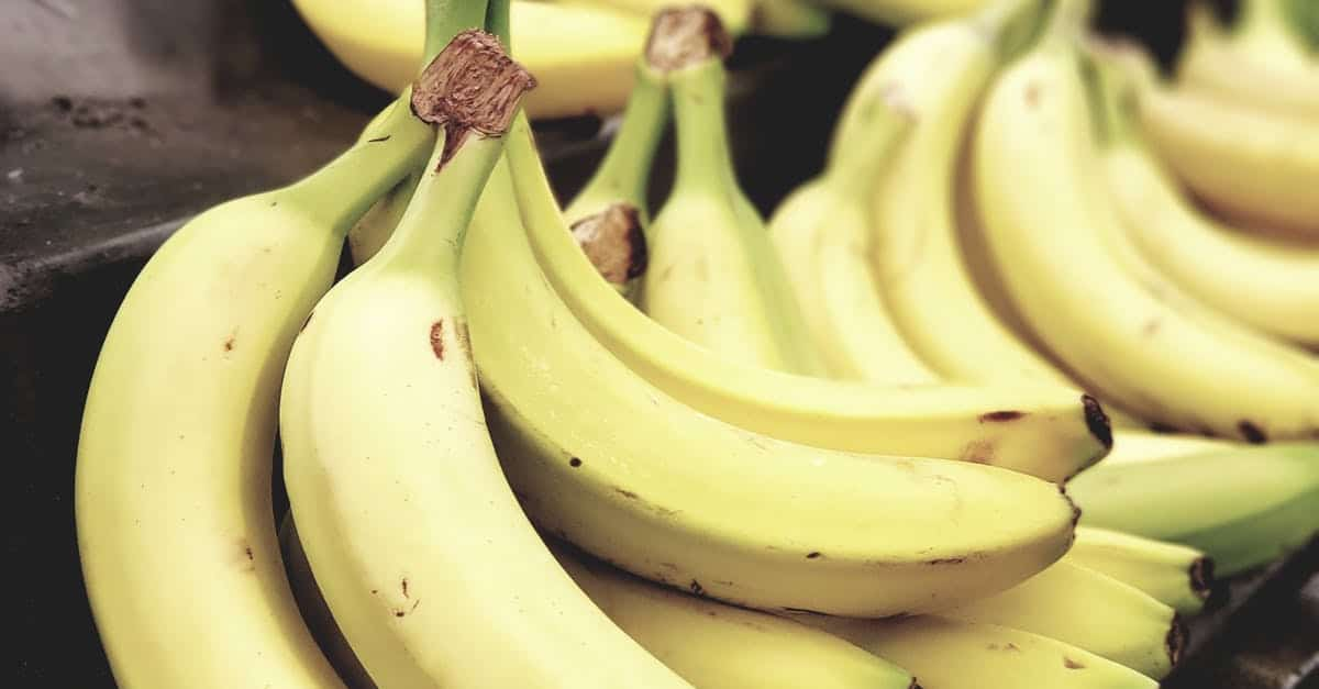nutrition facts of banana
